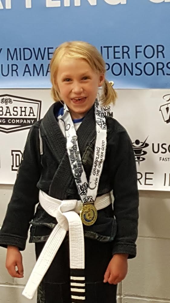 RaeLynne gold medal